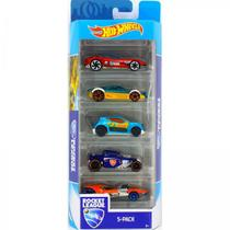 Carrinhos Hot Wheels Pacote com 5 Carros Rocket League Fyl23 - Mattel