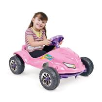 Carro a Pedal Speed Play Rosa Homeplay -