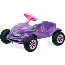 Carro a pedal speedplay lilas - homeplay unica