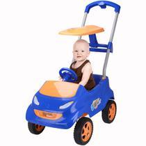 Carro a Pedal Xplast BabyCar - Azul/Laranja HomePlay -