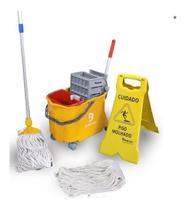 Carro Balde Funcional Kit Limpeza Bralimpia Kit Completo +++ -
