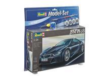 Carro BMW i8 C/TINTAS, PINCEIS E COLA - REVELL ALEMA -