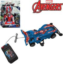 Carro com controle remoto com fio a pilha vingadores/avengers - Etitoys