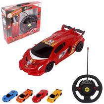 Carro com Controle Remoto sem Fio Nitro City 7 Funções - Wellmix