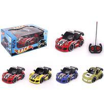 Carro com controle remoto sem fio race colors 7 funcoes com luz a pilha na caixa wellkids - Wellmix