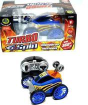 Carro Controle Remoto Turbo Spin Azul  4261 - DTC -