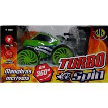 Carro Controle Remoto Turbo Spin  Verde  4261 - DTC -