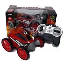 Carro Controle Remoto Turbo Spin  Vermelho  4261 - DTC -