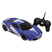 Carro Controle Remoto WaterFall RC 7 Funçoes Bateria Candide