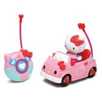 Carro de Controle Remoto - Auto Fofura Rosa - Hello Kitty - DTC -