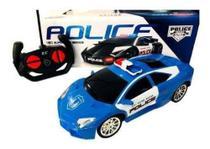 Carro de controle remoto polícia - Prenda Toys