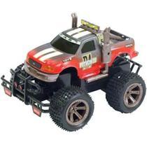 Carro de Controle Remoto - Terreno Radical Rosa e Grafite - 40MHz - DTC -