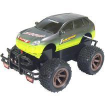 Carro de Controle Remoto - Terreno Radical Verde - 27MHz - DTC -