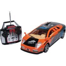 Carro de Controle Remoto Torque Racer - Laranja - DTC -