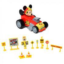 Carro do Mickey com Kit Acessorios, Toyng -