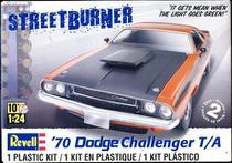 Carro Dodge Challenger T/A 1970 - REVELL AMERICANA -