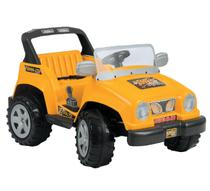 Carro Eletrico Biemme Jeep Full Power Amarelo -