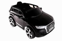Carro Elétrico Conv. Audi Q7 Preto 12V C/ Controle - Fluxo