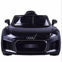 Carro Elétrico Conv. Audi R8 Preto 12V C/ Controle Bel Brink -