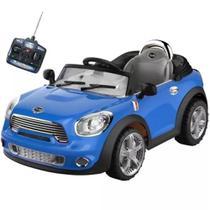Carro Elétrico conversível 6v Azul - Bel Brinks