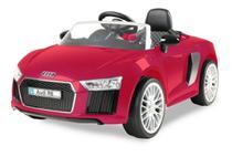 Carro Eletrico Infantil Audi R8 6V Com Controle Remoto Vermelho - Xalingo 10921 -