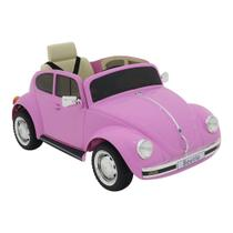 Carro Elétrico Infantil Fusca Beetle 12V Com Controle Bel -