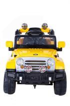 Carro Elétrico Infantil Jipe Trilha 12V Amarelo - Belfix