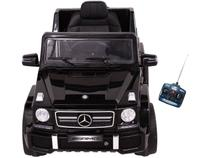 Carro Elétrico Infantil Mercedes Off-Road - com Controle Remoto 2 Marchas Emite Sons Farol 12V