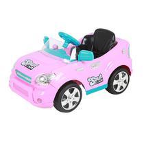 Carro Elétrico Infantil Soult Car 6V Rosa Homeplay -