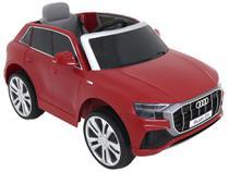 Carro Elétrico Infantil Vermelho Bel Fix Audi Q8 - 12V com Controle Remoto
