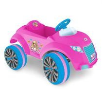 Carro Elétrico Infantil XRover 6V Barbie Rosa Xalingo Brinquedos Rosa -