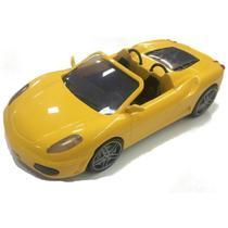 Carro Esportivo de brinquedo Fast Car 6080 Amarelo - Silmar