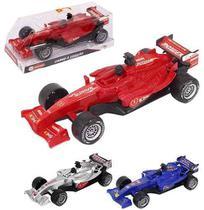 Carro F1 A Friccao Speed Power Possantes Colors Com Som A Bateria - Wellmix