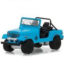 Carro Greenlight Jeep Cj-7 Dharma Hollywood Lost - Escala 1/64 - 1977 44810-F -