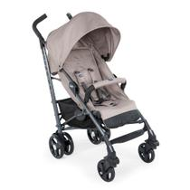 Carro Lite Way Chicco Basic 3 com 5 Posições Dark Beige