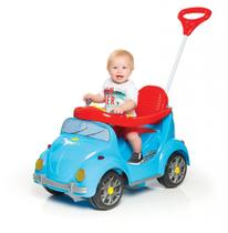Carro Pedal e Passeio Fouks Azul Calesita - TaTeTi -