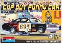 Carro Plymouth Duster - Cop Out FUNNY CAR 4093 - REVELL AMERICANA -