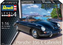 Carro Porsche 356 Cabriolet - Gigante - Escala 1/16 07043 - REVELL ALEMA -