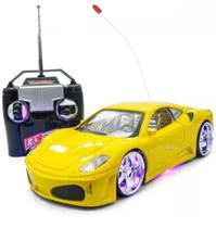 Carro Rebaixado Carrinho De Controle Remoto Ferrari - Xd Toy