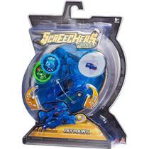 Carro Screechers Wild Jayhawk Lança Discos - DTC -