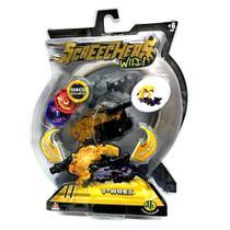 Carro Screechers Wild V-Wrex Lança Discos Dtc -