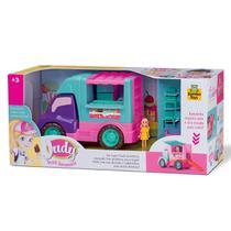 Carro Sorveteria Judy 118 Samba Toys -