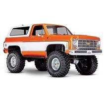 Carro Trx-4 Chevy Blazer Rtd 4Wd Crawler Orange 82076-4 -