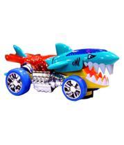 Carro tubarão a pilha som/luz hd990 22cm - Esm