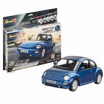 Carro VW New Beetle 1:24 REV 67643 - Kit Completo para Montar (Model Set) - Revell