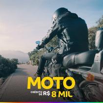 Carta de Crédito de Moto 8.000,00 em 60 Meses de 164,00 - Consórcio luiza