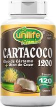 Cartacoco Óleo de Cartamo e Coco 1.200mg 120 Caps Unilife -