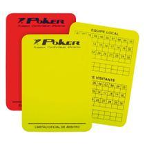 Cartão Campo Arbitro Oficial Poker -