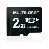 Cartao De Mem. Micro Sd 2 Gb C/ Adpt P/ Sd - Mc455 - Multilaser