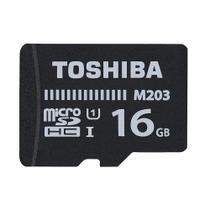 Cartão de Memória 16GB MicroSDHC 100MB/s UHS-I Toshiba -